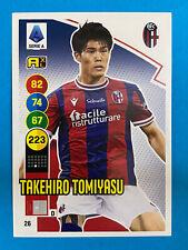 Panini Calciatori Adrenalyn 2021-22 2022 n. 26 Takehiro Tomiyasu BOLOGNA