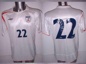 Ribbon FC Match Shirt Jersey Football Soccer Large Japan Umbro Player 22 England