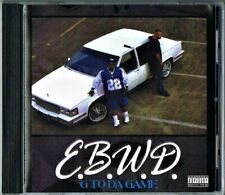 E.B.W.D - G TO THA GAME ALBUM CD 12TRX MEGA RARE G-FUNK GANGSTA RAP 1999