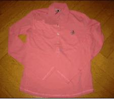 Poloshirt Langarm, Gr. 40, 42 ( XL ),rosa, Donaldson, NEU !