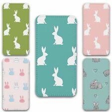 For iPhone 11 Flip Case Cover Rabbit Set 4