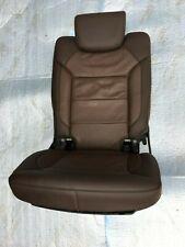 MERCEDES BENZ GL350 ML350 W166 REAR RIGHT THIRD ROW SEAT CUSHION OEM BROWN