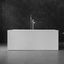 "WOODBRIDGE 59"" Acrylic Freestanding Bathtub Contemporary Soaking BTA0085"
