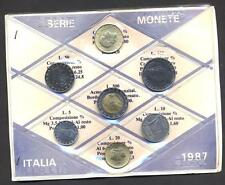 Mini Serie Divisionale Sigillate in FDC 1987