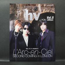 Japan 『ROCK'N'ROLL hv   Vol.5 1997』 L'Arc~en~Ciel  GLAY hide  magazine