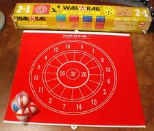 TOY GAME Wall Ball Game 1978 Never Used