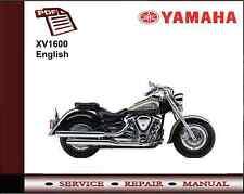 Yamaha XV 1600 XV1600 Workshop Service Repair Manual