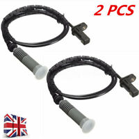 2Pcs Rear ABS Wheel Speed Sensor For BMW 1&3 Series E88 E90 E91 E93 34526762466