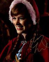 """ELIZABETH LAIL signed  8x10 autograph photo W/COA OUAT FROZEN """" ANNA """""""