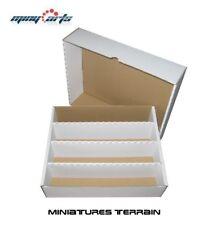Cardboard box/carton for approx 4000 Cards sorting box, storage, Kartenbox Top