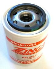 "ZA AE-10-AZ - Zinga Spin on Aqua-Zorb Filter 10 Micron 1"" - 12 Threads 3.8"" Diam"