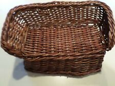 Barbie Chocolate colored Wicker COUCH. Pre-owned -VINTAGE- 1/6 scale