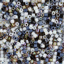 Miyuki Delica Seed Beads Size 8/0 (3mm) Mix Pebblestone 6.8g (J103/12)