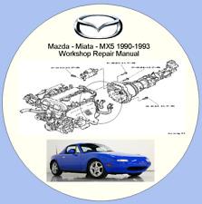 Mazda - Miata - MX5 1990-1993 Workshop Repair Manual