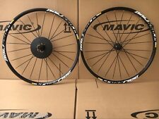 "New Mavic Crossride Disc CR 29"" MTB 6-bolts Mountain Bike F&R Wheels Wheelset"