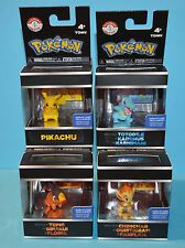 TOMY Pokemon Trainer's Choice serie/WAVE 1-Serie completa di 4 Mini-Figure