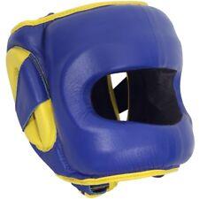 Ringside Deluxe Face Saver Boxing Headgear - Blue