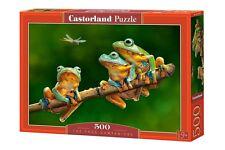 Castorland B-52301 Puzzle The Frog Companions Frösche Tiere Natur 500 Teile