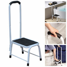 Non Slip Safety Step Stool Bath Kitchen Mobility Aid Handrail Platform Support
