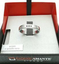 Of Rosso Amante From Gioielleria Amadio Ring Engagement Steel And Spinelli Black