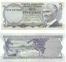 International Paper Note - 1995 Turkey - 5 Lira - Uncirculated