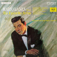 "Mario Lanza Sings His Favorite Arias 12 "" LP (c283)"