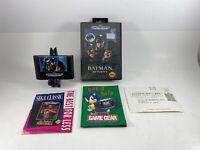 Batman Returns (Sega Genesis, 1992) Semi Complete