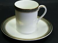Royal Doulton Fine Bone China Clarendon Coffee Cup With Saucer
