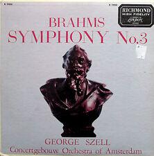 Brahms Symphony no. 3 George Szell - London B 19050 EXCELLENT
