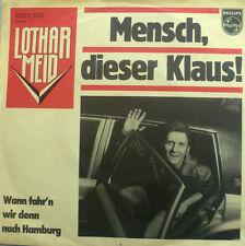 "7"" 1976 RARE IN MINT -! Lothar Meid uomo questa Klaus"