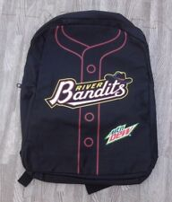 Quad City River Bandits SGA Youth Black Backpack ~ Houston Astros Midwest Cities
