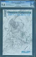 Transformers 1 Spotlight Kup CGC 9.8 RRP Edition Nick Roche Sketch Variant