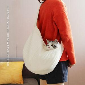 Cat Dog Bag Canvas Shoulder Bag Outdoor Pet Puppy Carrier Home Travel Sling Bags