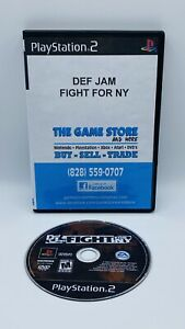 Def Jam Fight for NY PlayStation 2 2004 PS2 Disc Only Tested Working
