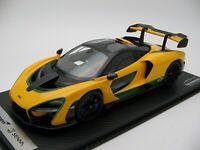 1/18 scale Tecnomodel McLaren Senna Brazil Flag Color  2018 code T18-EX07B