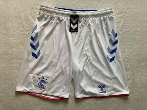 New Glasgow Rangers 3XL Football Hummel Shorts Adult Mens Extra Large