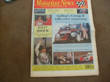 Motoring News 9 December 1992 Rally of the Lakes Rallycross GP Will Gollop M3
