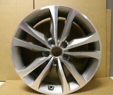 "1 Originale Hyundai Santa Fe 18 "" Lega Ruota Grigio Diamante Taglio"