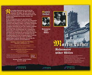 MARTIN LUTHER Reformator wider Willen VHS Niall MacGinnis David Horne NO DVD rar