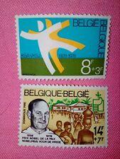STAMPS  TIMBRE - POSTZEGELS - BELGIQUE - BELGIE 1978 NR 1919/20 **  (ref 1623)