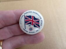 WW11 AUSTRALIAN FIGHTING FORCES COMFORTS FUND ARMY 1941 F.F.C.F BUTTON DAY BADGE