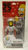 THE SIMPSONS 25 OF THE GREATEST GUEST STARS- BUZZ ALDRIN ACTION FIGURE PACKAGE