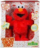 "Sesame Street Dancing Elmo 123 Dance Groove & Move Elmo 13.5"" Plush Toy"
