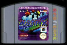 WETRIX Nintendo 64 N64 Versione Europea ••••• SOLO CARTUCCIA