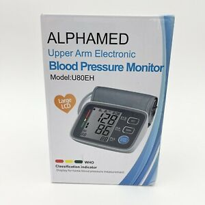 ALPHAGOMED Accurate Blood Pressure Monitor for Arm Adjustable BP Cuff 21 inch