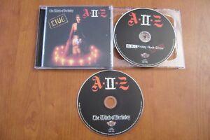A II Z  THE WITCH OF BERKELEY 2 CD 2011 HEAVY METAL NWOBHM SAXON DEMON TRESPASS