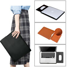 Leather Laptop Sleeve Pouch Bag Case For Apple iPad Pro/Macbook Air 11/Pro 15 16