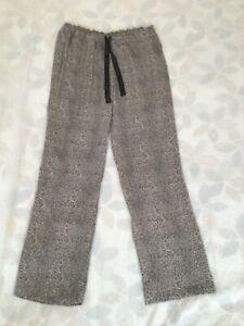 Calvin Klein Women's Pyjama Bottom XS Cheetah Print Lightweight Good Condition