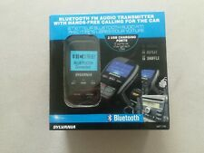 SYLVANIA Bluetooth FM Audio Transmitter Hands Free for Car Black Brand New