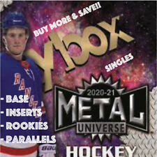 2020-21 Upper Deck Metal Universe Hockey Base/Parallels/Inserts/Rookies You Pick